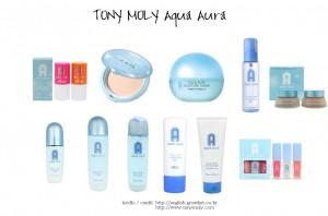 Tony Moly linia Aqua Aura