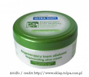 ULTRA SOFT NATURALS Regenerujący krem oliwkowy do twarzy