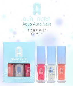 Tony Moly Aqua Aura Aqua Aura Nails