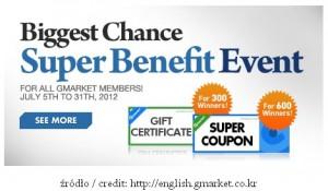Gmarket Super Benefit Event