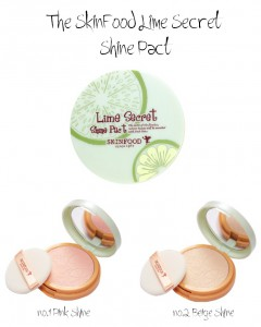 SkinFood Lime Secret Shine Pact