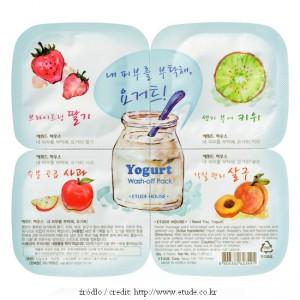 Etude House Yogurt Wash-Off Pack