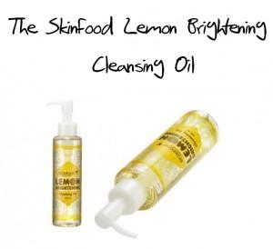 SkinFood Lemon Brightening Cleansing Oil