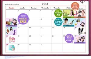 Gmarket Beauty Calendar Październik 2012