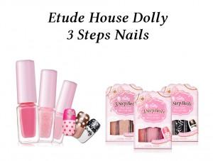 Etude House Dolly 3 Step Nail
