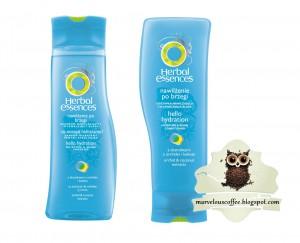 Herbal Essences Nawilżenie po brzegi (szampon + odżywka)