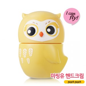 ETUDE HOUSE Missing U Hand Cream I can Fly peach peach