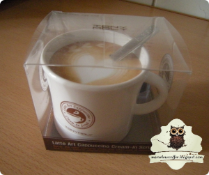 Tony Moly Latte Art Cappuccino Cream in Scrub