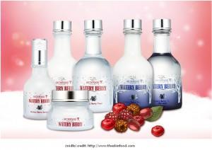 SkinFood linia Watery Berry