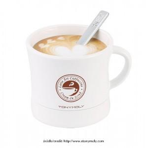 Tony Moly Latte Art Cappuccino Cream in Scrub