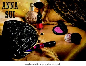 Anna Sui 2012 Xmas Collection Black Lace