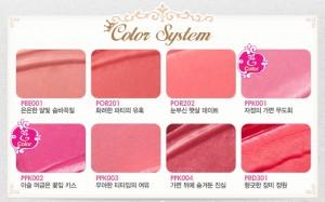ETUDE HOUSE Etoinette Crystal Shine Lips Lipstick