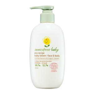 Innisfree Eco Recipe Baby Lotion