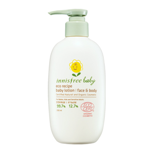 Innisfree Eco Recipe Baby Lotion
