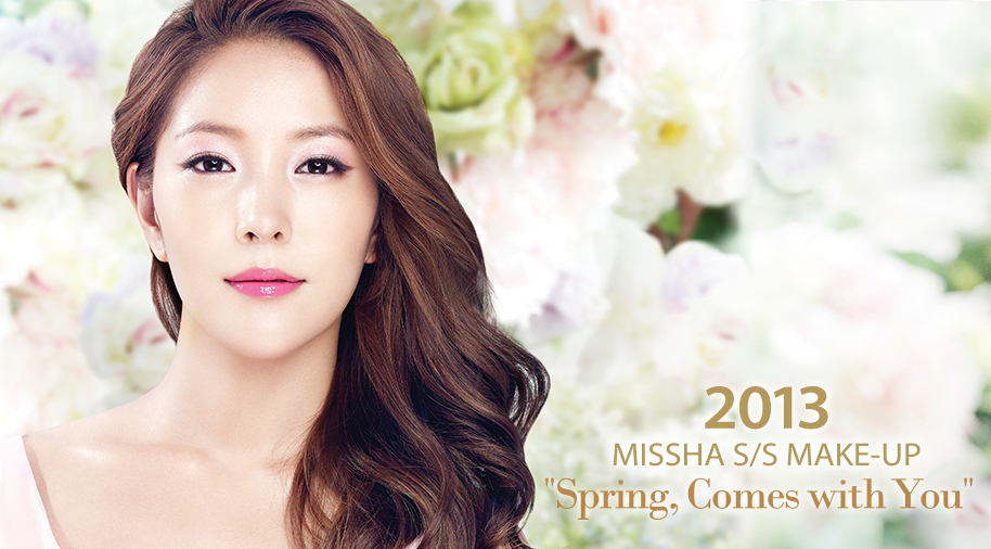 MISSHA 2013 S/S Make-Up Look SPRING, Comes With You