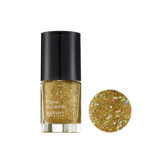 MISSHA The Style Crystal Nail Polish Shocking Pop no.4 Gold Shocking Pop