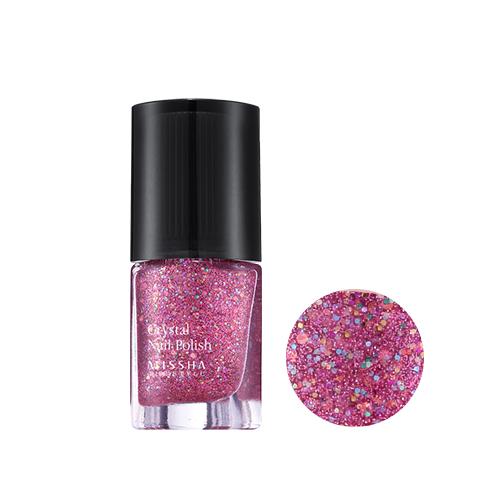 The Style Crystal Nail Polish Shocking Pop no.2 Pink Shocking Pop