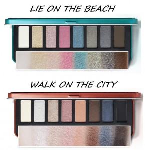 CLIO All That Eye Styler Kit Lie On The Beach oraz Walk On The City