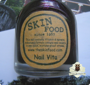 SkinFood Nail Vita VI407 Puppy Purple