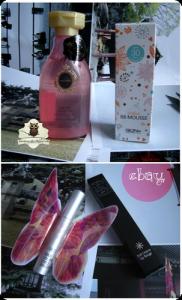 Shiseido MaChérie Air Feel, Skin79 Chiffon BB Mousse, Tony Moly Maxi Volume Force Mascara, Missha The Style Soft Crayon Lip Rouge