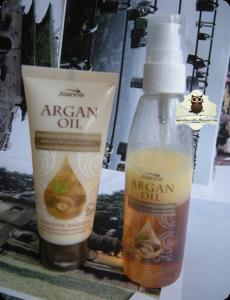 Joanna Argan Oil serum i odżywka
