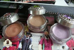 DAISO Crystal Cream Eyecolor - Rose, Cocoa & Purple