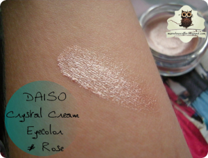 DAISO Crystal Cream Eyecolor - Rose