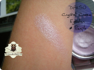 DAISO Crystal Cream Eyecolor - Purple