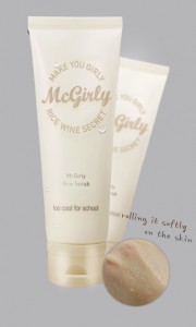 Too Cool for School McGirly Rice Scrub