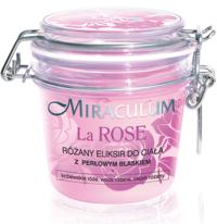 MIRACULUM La Rose, różany eliksir do ciała z perłowym blaskiem