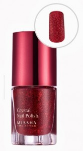 MISSHA The Style Crystal Nail Polish w kolorze Blood Sand