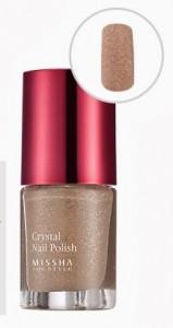 MISSHA The Style Crystal Nail Polish w kolorze Nude Sand
