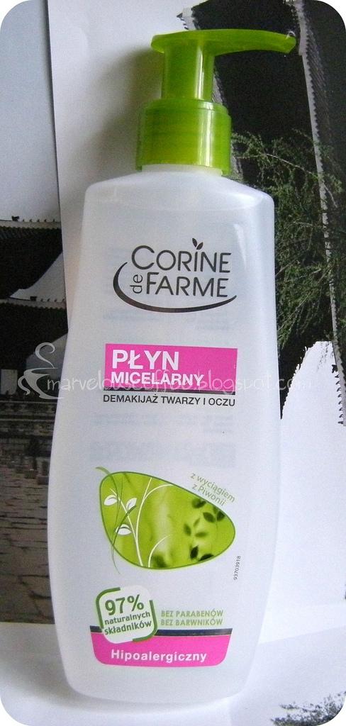 Corine de Farme płyn micelarny do twarzy i oczu