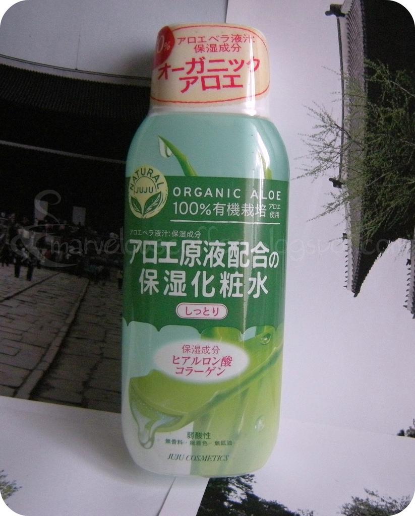 JUJU 100% Organic Aloe Toner