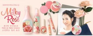 SkinFood Milky Rose 2014 Spring Make-Up