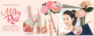 SkinFood Milky Rose 2014 Spring Make-Up