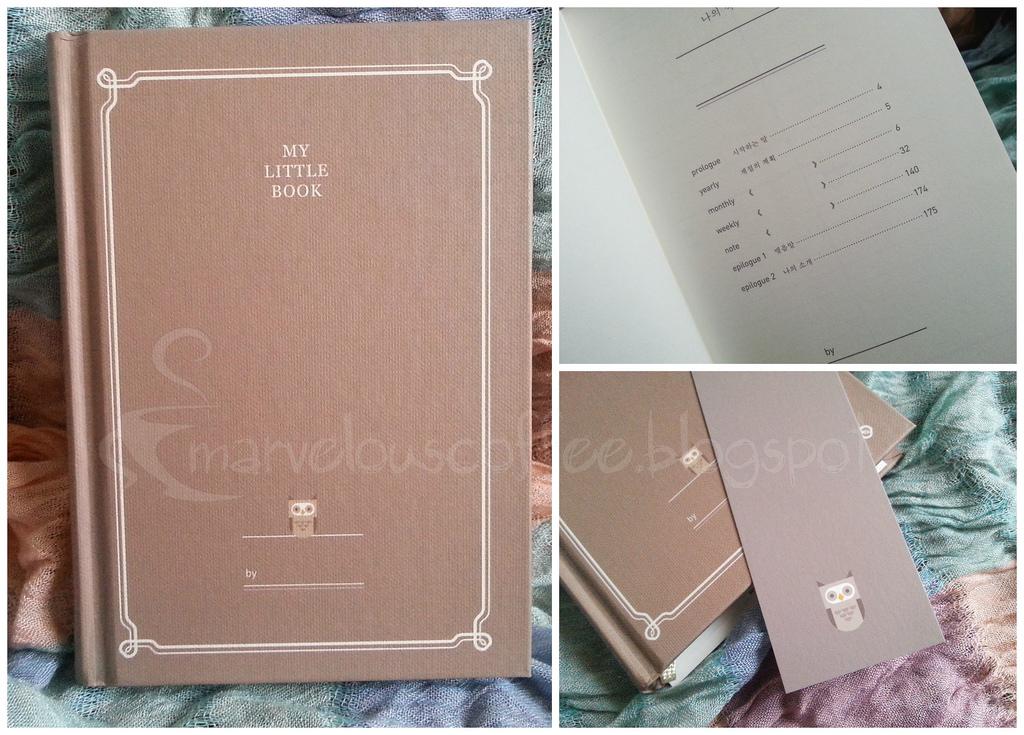 kalendarz z sową My Little Book