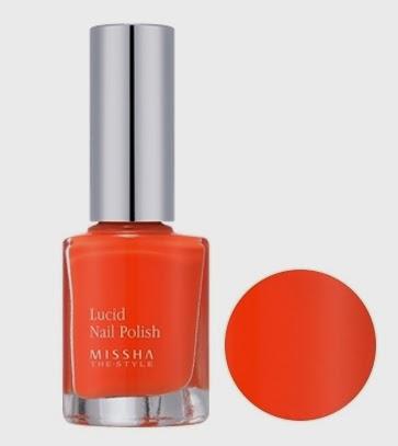MISSHA The Style Lucid Nail Polish OR03