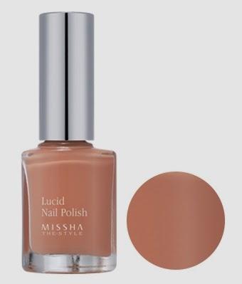 MISSHA The Style Lucid Nail Polish CR04