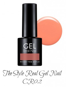 MISSHA The Style Real Gel Nail CR02