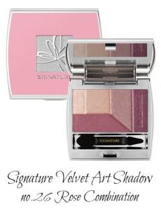 MISSHA Signature Velvet Art Shadow no.26 Rose Combination
