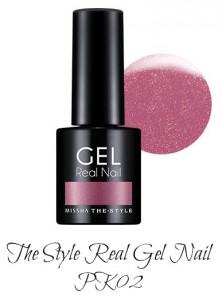 MISSHA The Style Real Gel Nail PK02
