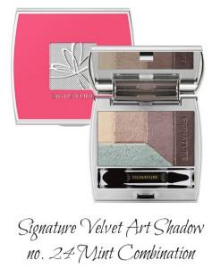 MISSHA Signature Velvet Art Shadow no. 24 Mint Combination