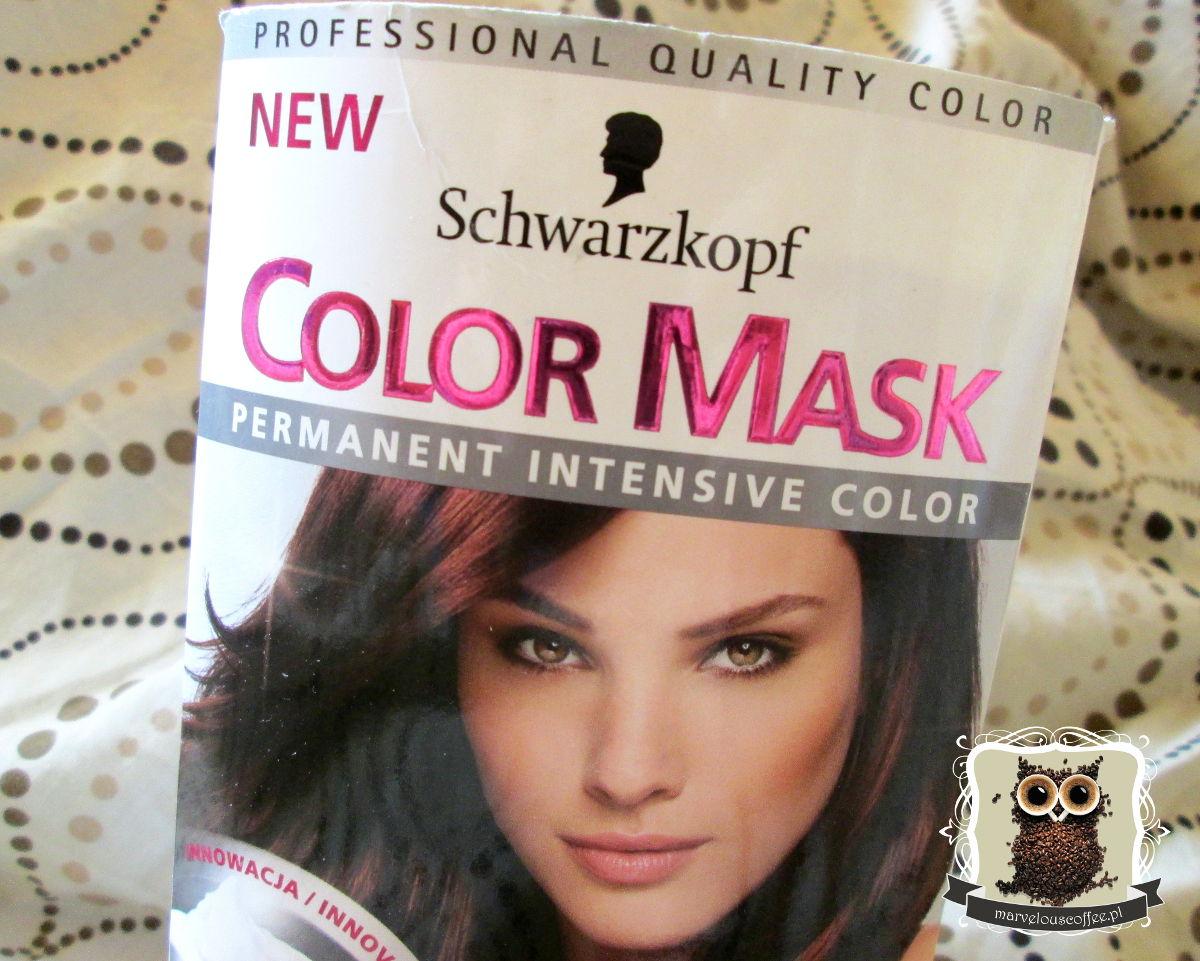 Schwarzkopf Color Mask w odcieniu 368 - ciemny kasztan