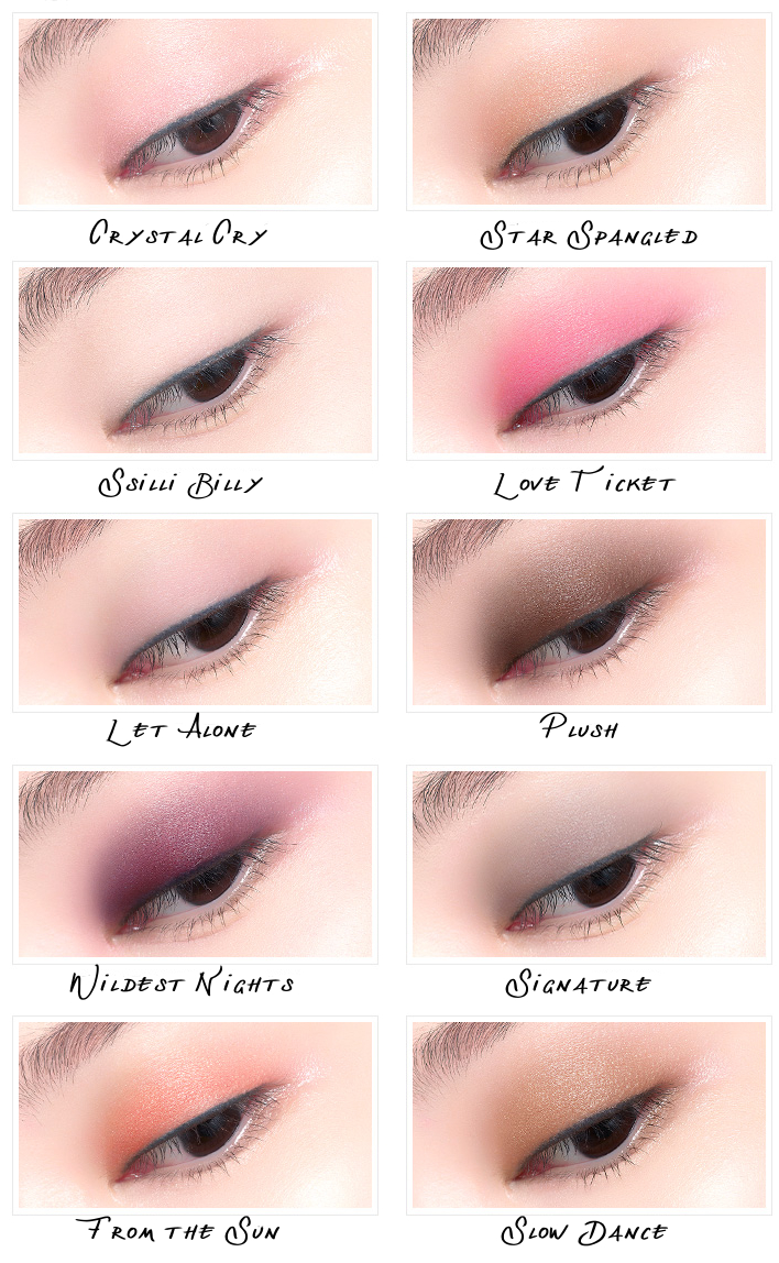 eSpoir Pro Eye Color Palette
