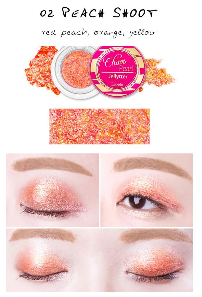 Lioele Chaos Pearl Jellyter 02 Peach Shoot