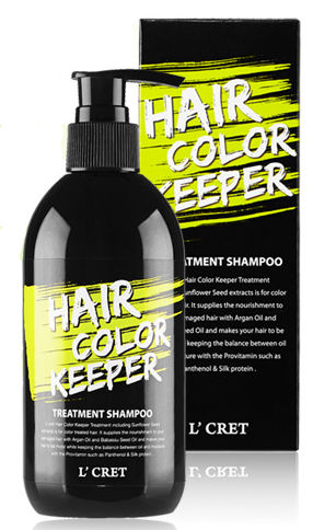 Lioele L'CRET Hair Color Keeper Treatment Shampoo