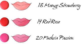 CHICCA Mesmeric Lipstick 18, 19, 20