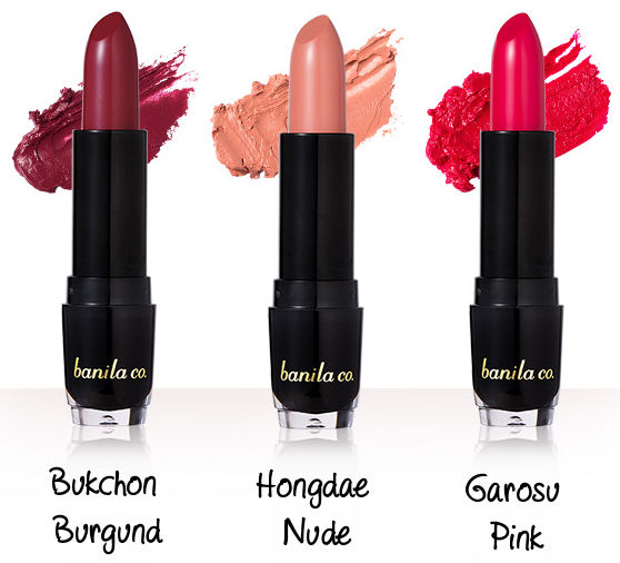 banila co. Fall in Seoul Kiss Collector Moisture Lipstick
