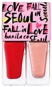 banila co. Fall in Seoul Tomorrow Twin Nail